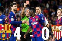 Analisis Pertandingan Barcelona vs Sevilla