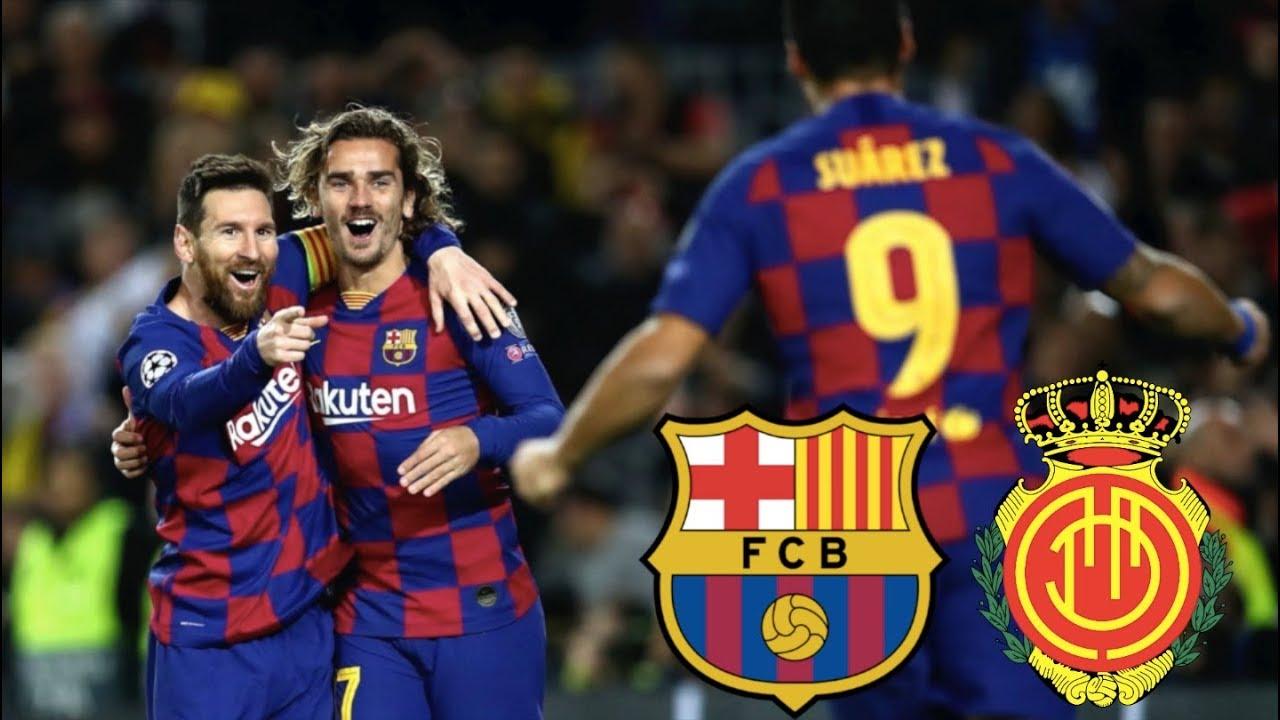 Prediksi Pertandingan RCD Mallorca vs Barcelona Judi Bola Online BK8